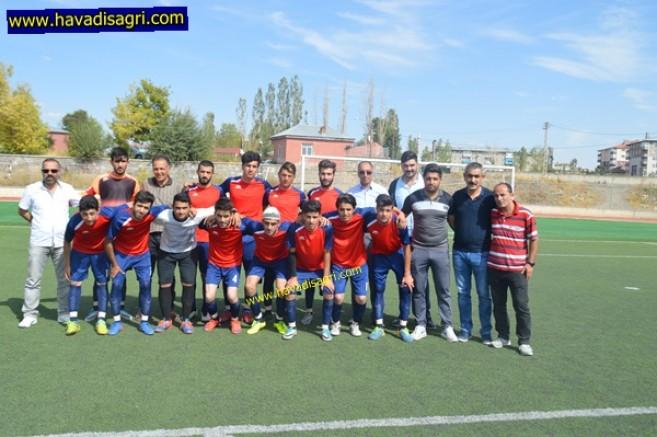 Eleşkirt'in Gençleri İlk Maçında Umut Verdi